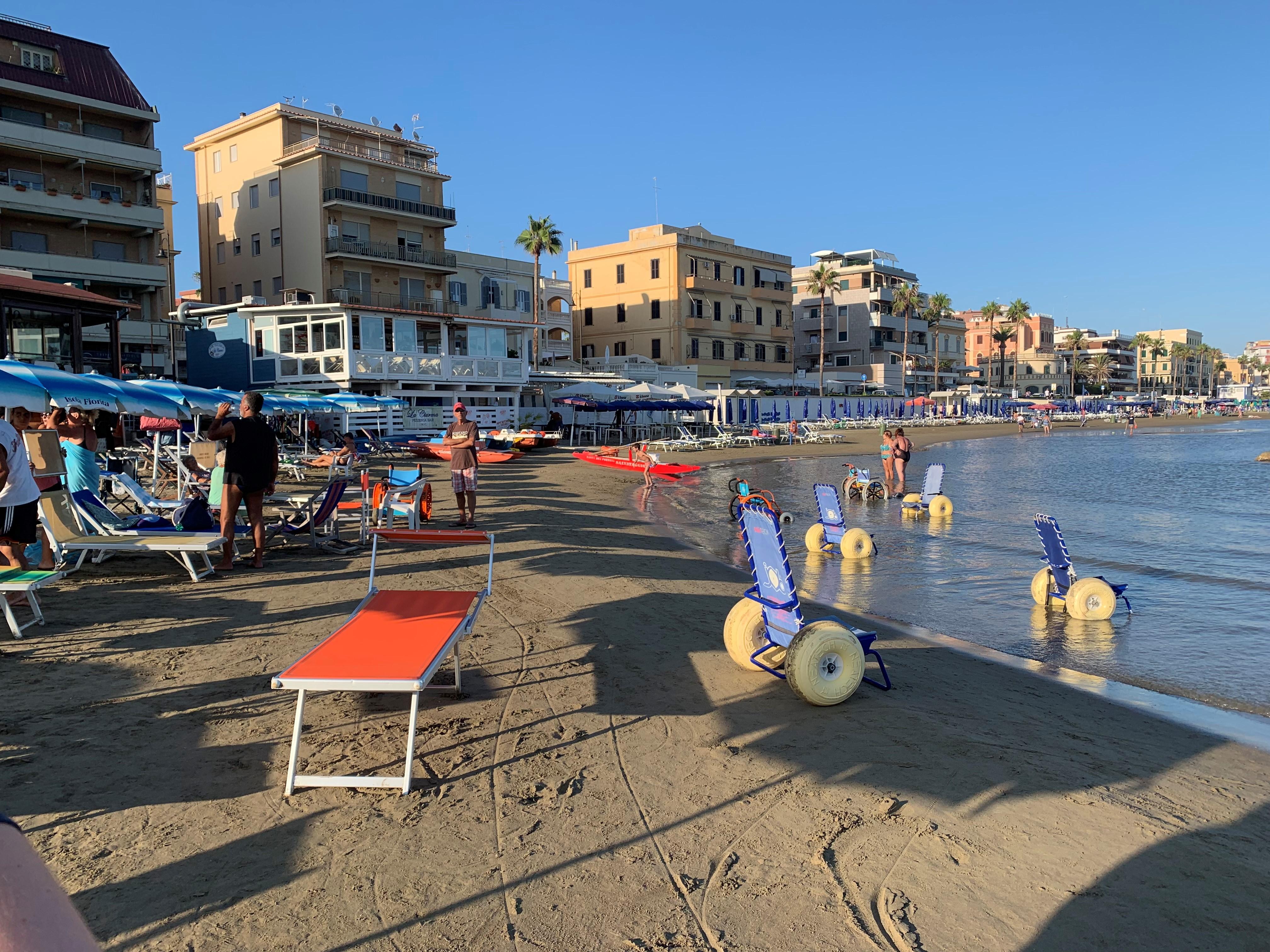 la girandola beach, girandola beach, spiaggia la girandola beach, spiaggia disabili, la girandola beach anzio, spiaggia disabili Anzio, spiaggia disabili Roma
